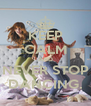 KEEP CALM AND NEVER STOP DANCING. - Personalised Poster A4 size