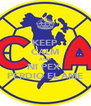 KEEP CALM AND NI PEX  PERDIO EL AME - Personalised Poster A4 size