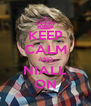 KEEP CALM AND NIALL ON - Personalised Poster A4 size