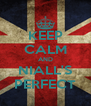 KEEP CALM AND NIALL'S PERFECT - Personalised Poster A4 size