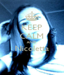 KEEP CALM AND Nicoletta  - Personalised Poster A4 size