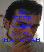 KEEP CALM AND Nikos  HAHAHAH - Personalised Poster A4 size