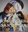 KEEP CALM AND NO SE QUIERA PASAR DE VERGA - Personalised Poster A4 size