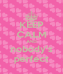 KEEP CALM AND nobody's perfect - Personalised Poster A4 size