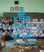 KEEP CALM AND NTAR DI TAG - Personalised Poster A4 size