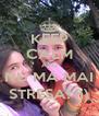 KEEP CALM AND NU MA MAI STRESA! :)) - Personalised Poster A4 size