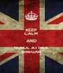 KEEP CALM AND NURUL ATTIKA SIREGAR - Personalised Poster A4 size