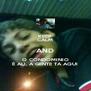 KEEP CALM AND O CONDOMINIO É ALI, A GENTE TA AQUI - Personalised Poster A4 size