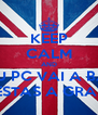 KEEP CALM AND O TEU PC VAI A BAIXO QUANDO ESTAS A GRAVAR VIDEO - Personalised Poster A4 size
