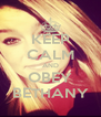 KEEP CALM AND OBEY BETHANY - Personalised Poster A4 size
