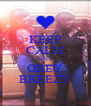 KEEP CALM AND OBEY BREEZY - Personalised Poster A4 size