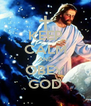 KEEP CALM AND OBEY GOD - Personalised Poster A4 size