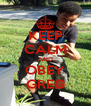 KEEP CALM AND OBEY GREG - Personalised Poster A4 size