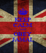 KEEP CALM AND OBEY JAMAL - Personalised Poster A4 size