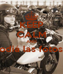 KEEP CALM AND odiá las fotos  - Personalised Poster A4 size