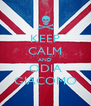 KEEP CALM AND ODIA GIACOMO - Personalised Poster A4 size