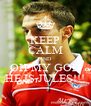 KEEP CALM AND OH MY GOD HE IS JULES!!! - Personalised Poster A4 size