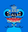 KEEP CALM AND Ohana *-* - Personalised Poster A4 size