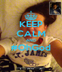 KEEP CALM AND #OhGod  - Personalised Poster A4 size
