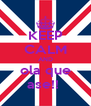 KEEP CALM AND ola que ase!!  - Personalised Poster A4 size