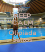 KEEP CALM AND Olipíada Saltos - Personalised Poster A4 size
