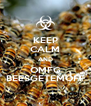 KEEP CALM AND OMFG BEESGETEMOFF - Personalised Poster A4 size