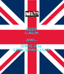 KEEP CALM AND.... OMG it is  ONE DIRECTON - Personalised Poster A4 size