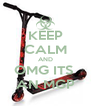 KEEP CALM AND OMG ITS  AN MGP - Personalised Poster A4 size