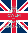 KEEP CALM AND OMG  ZENDAYA - Personalised Poster A4 size