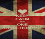 KEEP CALM AND ONE DIRECTION!!!!! - Personalised Poster A4 size