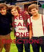 KEEP CALM AND ONE DIRECTION♥ - Personalised Poster A4 size