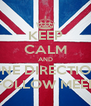 KEEP CALM AND ONE DIRECTION FOLLOW MEEE - Personalised Poster A4 size