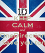KEEP CALM and OneDirection Will Save you tonight - Personalised Poster A4 size