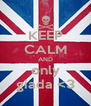 KEEP CALM AND only giada <3 - Personalised Poster A4 size