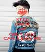 KEEP CALM AND ONLY GOD CAN JUDGE ME - Personalised Poster A4 size