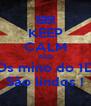 KEEP CALM AND Os mino do 1D São lindos ! - Personalised Poster A4 size