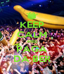 KEEP CALM AND PAGA DA BER - Personalised Poster A4 size