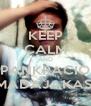 KEEP CALM AND PANKRACIO MADAJAKAS! - Personalised Poster A4 size