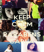 KEEP CALM AND PARABÉNS CARLA - Personalised Poster A4 size