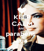 KEEP CALM AND parabéns  Lua - Personalised Poster A4 size