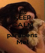 KEEP CALM AND parabéns Mel - Personalised Poster A4 size