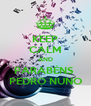KEEP CALM AND PARABÉNS  PEDRO NUNO - Personalised Poster A4 size