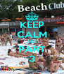 KEEP CALM AND PART 3 - Personalised Poster A4 size