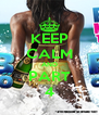 KEEP CALM AND PART 4 - Personalised Poster A4 size