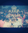 KEEP CALM AND PARTY KINGS - Personalised Poster A4 size