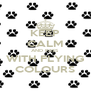 KEEP CALM AND PASS WITH FLYING COLOURS - Personalised Poster A4 size