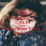 KEEP CALM AND PASSOU TÃO RAPIDO - Personalised Poster A4 size