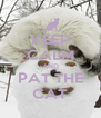 KEEP CALM AND PAT THE CAT - Personalised Poster A4 size
