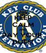 KEEP CALM AND PAY YOUR  DUES! - Personalised Poster A4 size