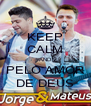 KEEP CALM AND PELO AMOR DE DEUS - Personalised Poster A4 size